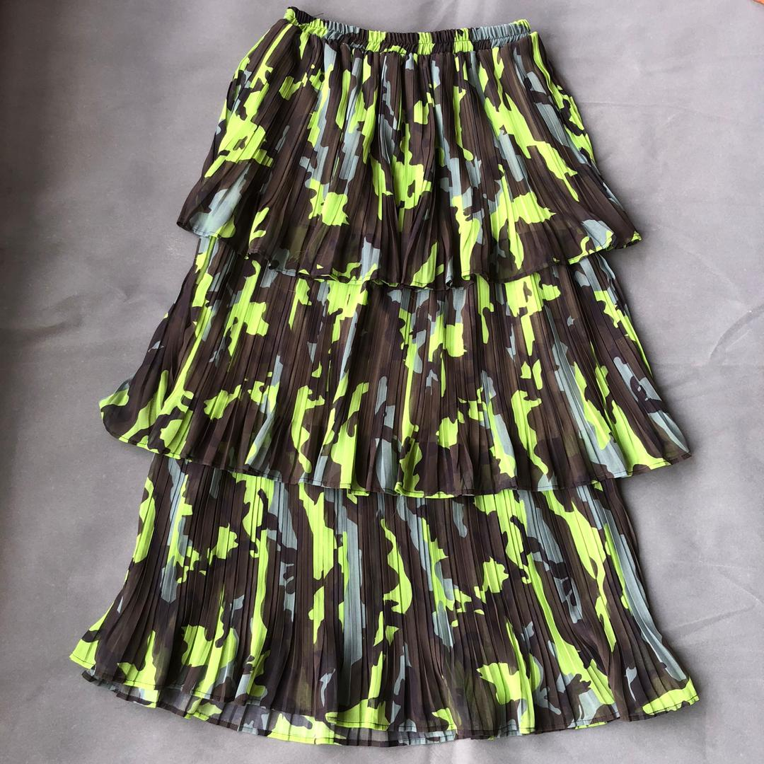 Angie Multicolored 3 Tier Skirt