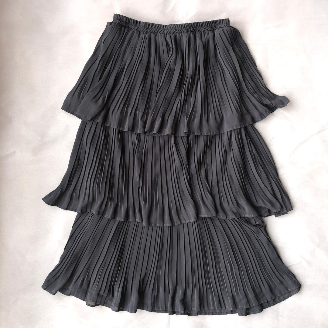 Angie Black 3 Tier Skirt