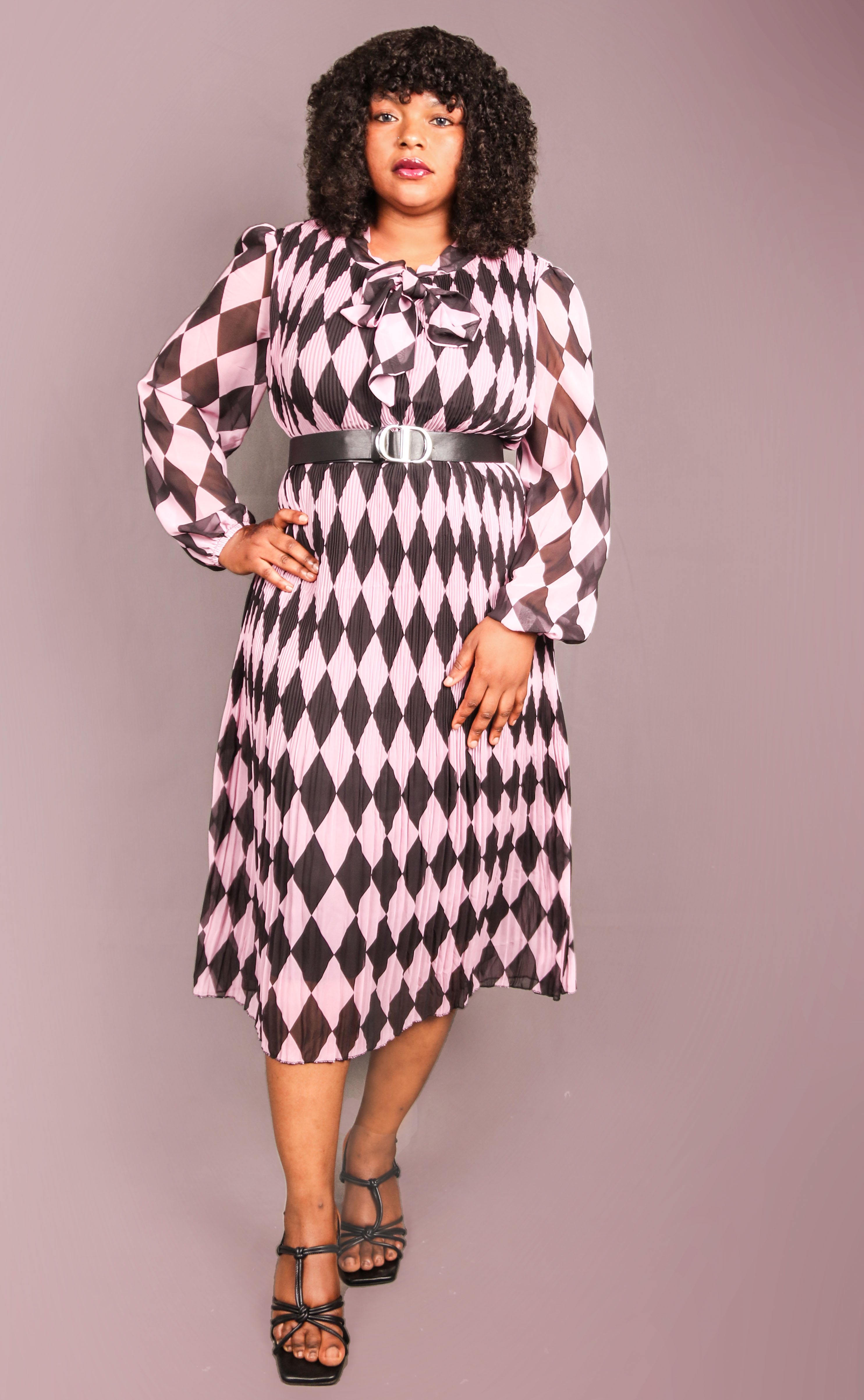 Alexis Front Bow Dress