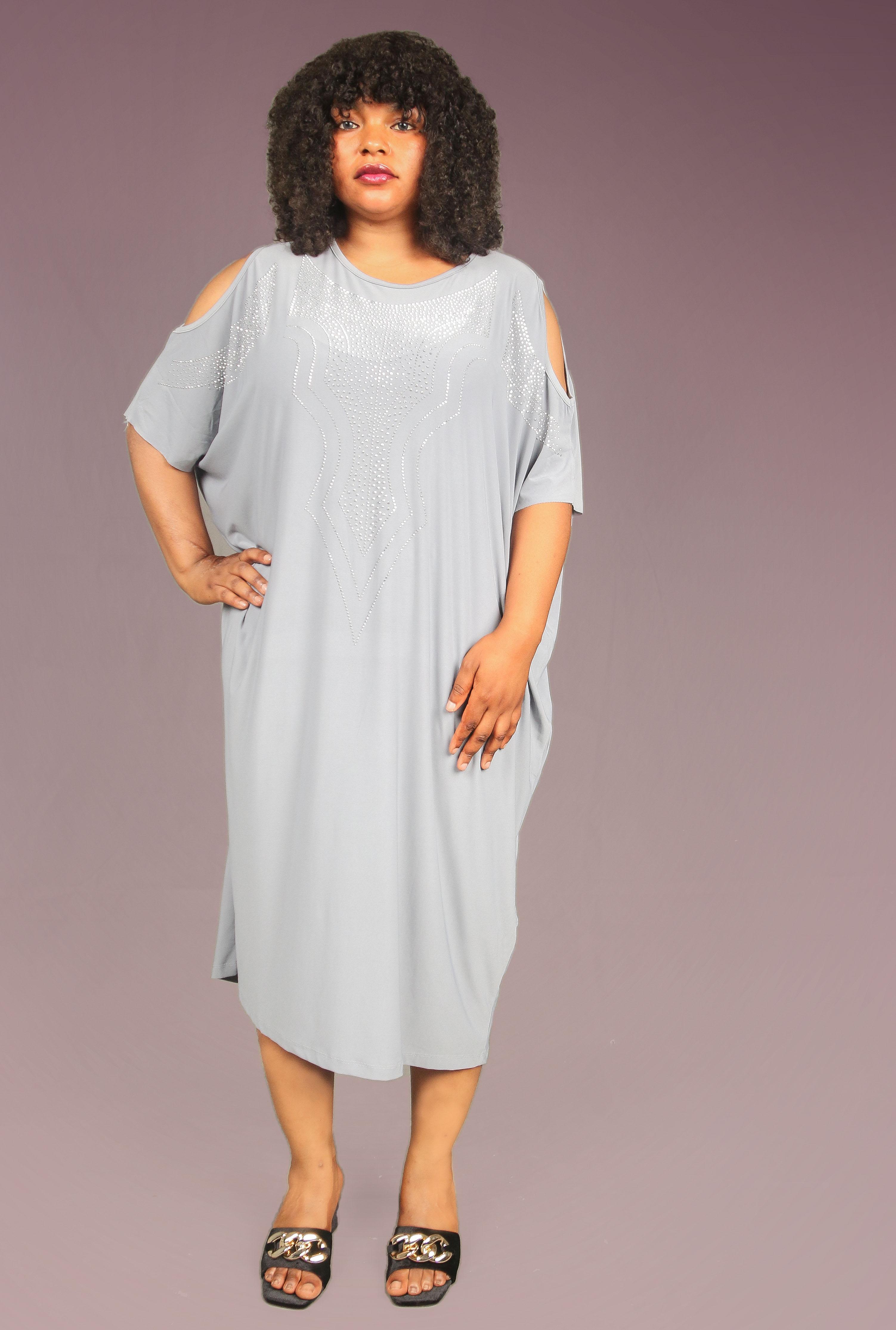 Calista Ash Embellished Dress